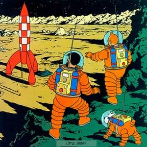 10 best: Tintin Explorers on the Moon