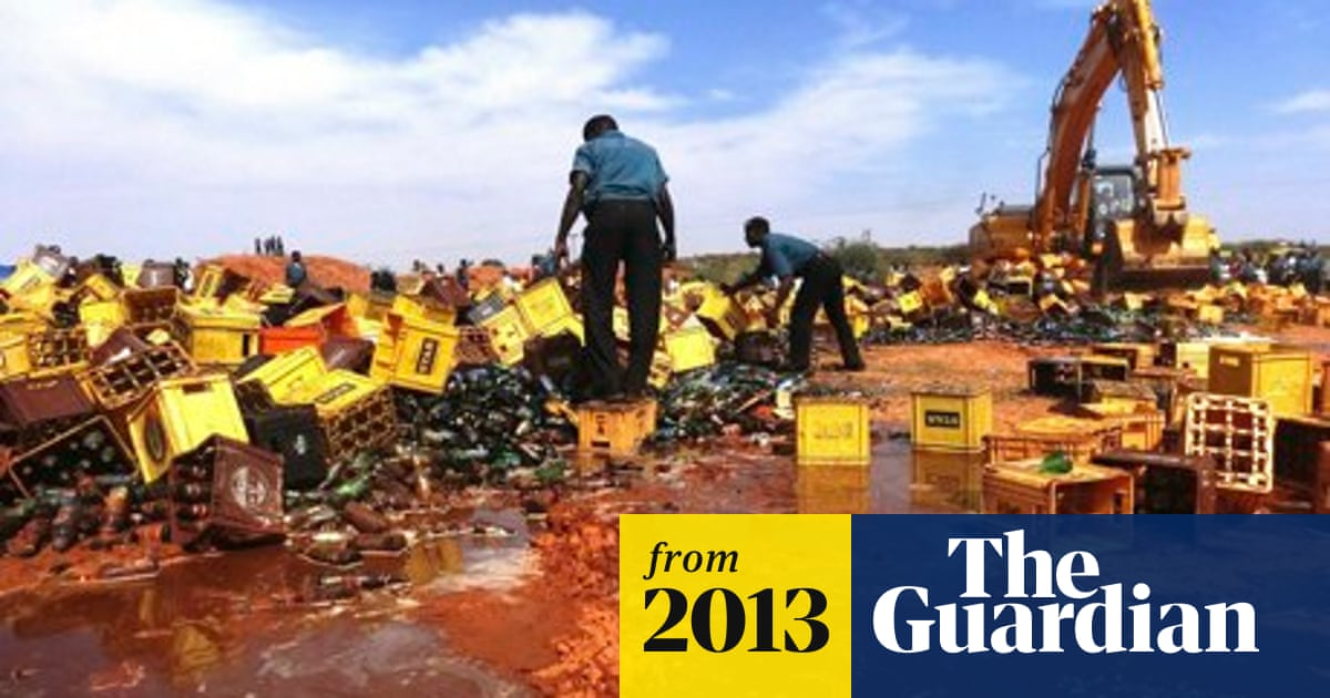 Thousands of bottles of beer smashed in sharia crackdown in Nigeria