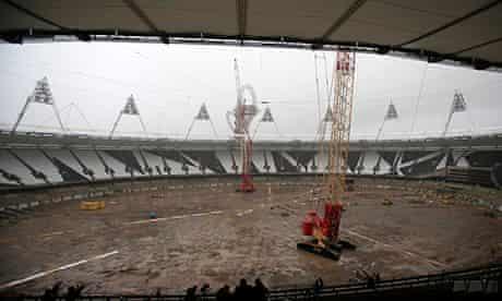 olympic park construction