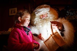 Socent Advent Calendar:: Father Christmas with child