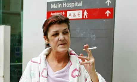 hospital smoking ban
