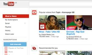 Google has never revealed revenue figures for YouTube.