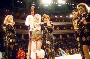 Vivienne Westwood: Sarah Stockbridge and Vivienne Westwood at the British Fashion Awards
