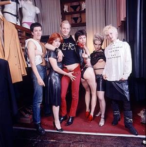 Vivienne Westwood: Steve Jones, Alan Jones, Chrissie Hynde, Jordan and Vivienne Westwood