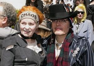 Vivienne Westwood: Vivienne Westwood and Stuart Goddard aka Adam Ant