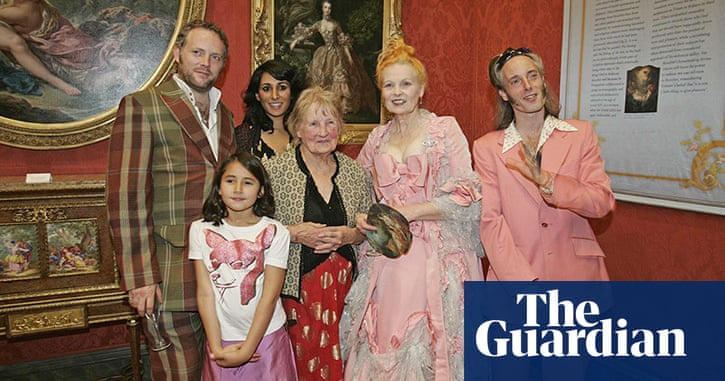 e4f94e97ce3 Vivienne Westwood: Her life and career so far - in pictures | Fashion | The  Guardian