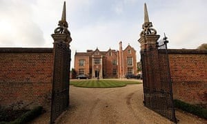 Chequers, the PM's country residence
