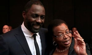 Idris Elba and Graca Machel