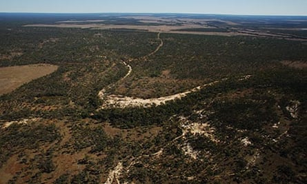 Galilee basin in central Queensland