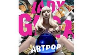 Lady Gaga's Artpop cover
