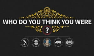 Who do you think you were? app logo