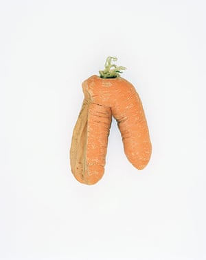 Big Picture - Carrots: orange carrot on white background