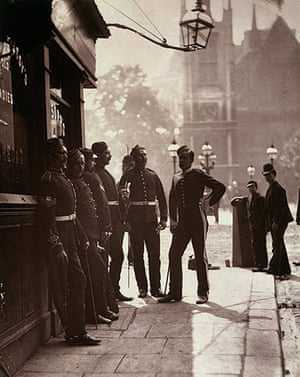 Street Life in London: Recruiting sergeants at Westminster