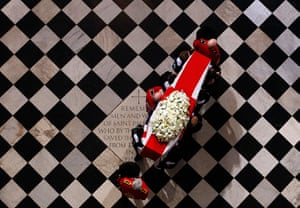 Picture Editor Awards: Thatcher's Coffin