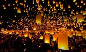 Paper sky lanterns law