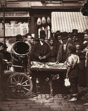 Street Life in London: Cheap fish of St Giles's