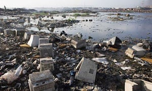 Electronic waste in Accra, Ghana, 2009
