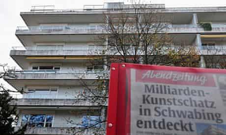 Cornelius Gurlitt's Munich apartment block 4/11/13