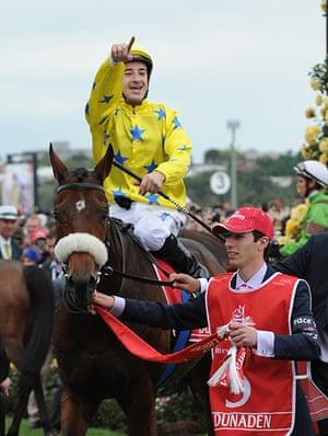 Melbourne Cup memories: Winning jockey Christophe Lemaire