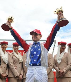 Melbourne Cup memories: Winning Melbourne Cup jockey Gerald Mosse