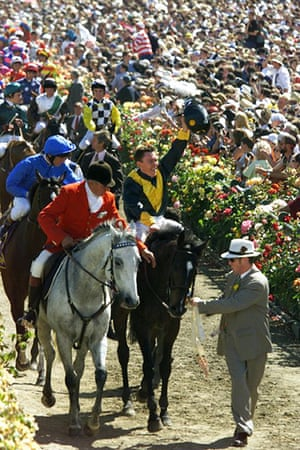 Melbourne Cup memories: Winner of the 1998 Melbourne Cup Chris Munce