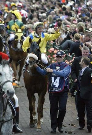 Melbourne Cup memories: Australian jockey Damien Oliver