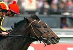 Melbourne Cup memories: Japanese Jockey Yasunari Iwata takes Delta Blue