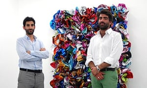 Jeremy Epstein and Charlie Fellowes, founders of Edel Assanti gallery