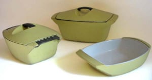 Raymond Loewy designs: 1958: Launch of the Coquelle Le Creuset set design