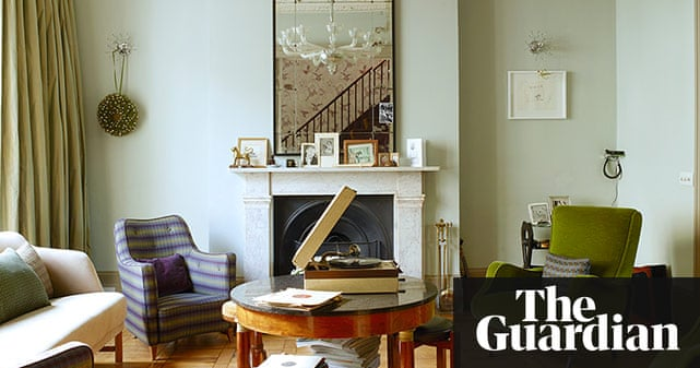 Interior design ideas in with the old in pictures life and style the guardian