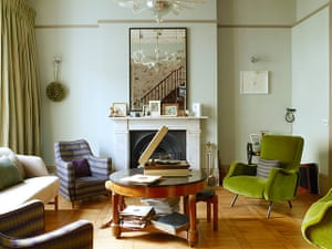Homes - In With The Old: interior of living room