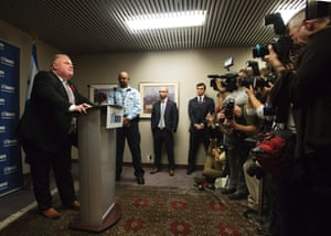 "Toronto Mayor Rob Ford addresses the media at City Hall in Toronto.  Ford acknowledged for the first time that he smoked crack ""probably a year ago,"" when he was in a ""drunken stupor,"" but he refused to resign despite immense pressure to step aside as leader of Canada s largest city."