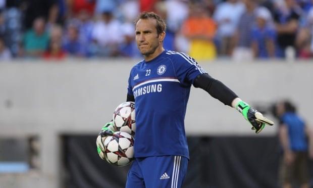 Chelsea's Australian goalkeeper Mark Schwarzer.