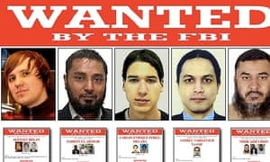 FBI adds five new hackers to its cyber's most wanted list.