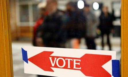 Voters in Virginia