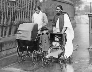 Asian Britain: Glasgow Nursemaids