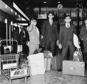 Asian Britain: Immigrants At Heathrow