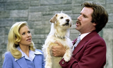 Doggy style – a still from Anchorman