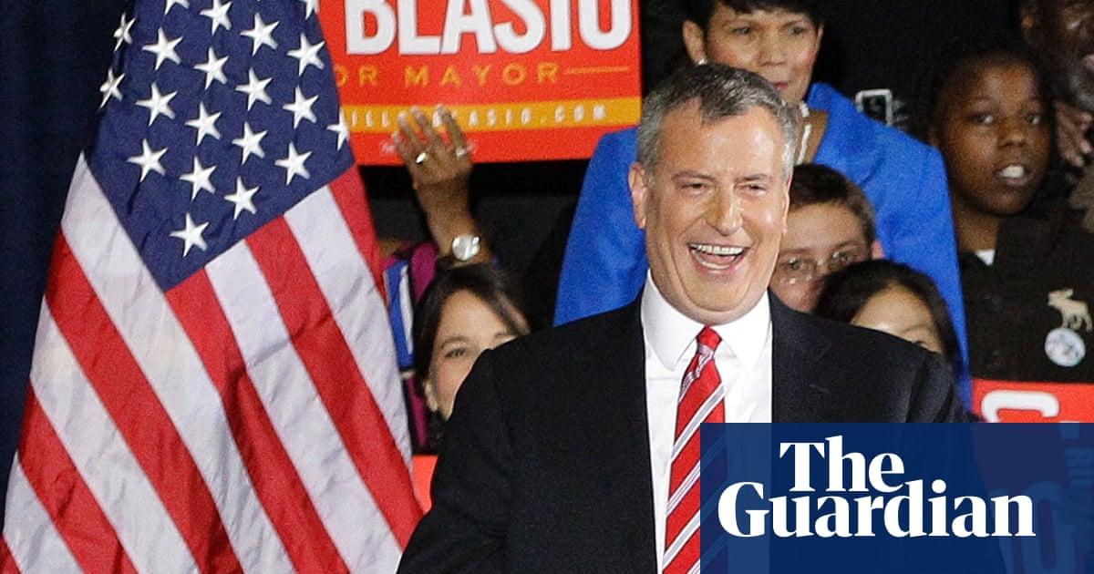 c48174979 Bill de Blasio triumphs as mayor of New York: here's how he did it ...