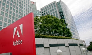Adobe's HQ. The company leaked over 100m users' details.