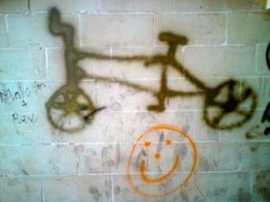 Bad graffiti: In a Maltese subway'I appreciate the attempt of the 'artist' to recreate