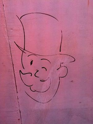 Bad graffiti: Got a Monopoly on that?