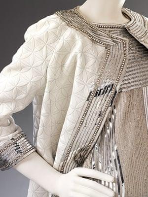 V&A: Italian fashion: Evening dress by Mila Schön