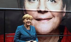 Angela Merkel at the 2013 elections