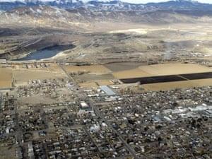 Nevada chemical pollution