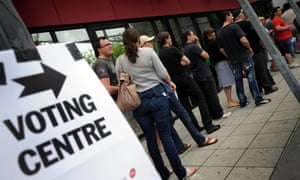 australia voting booth