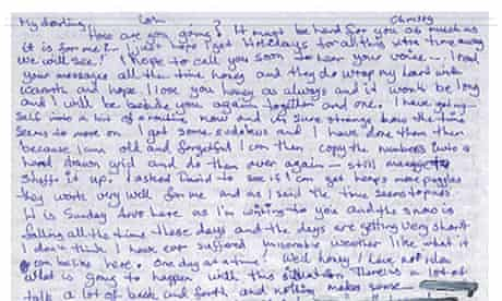 Letter from Arctic 30 activist Colin Russell