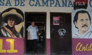 Murals in Catarina of Daniel Ortega