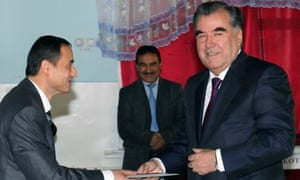 Presidential elections in Tajikistan