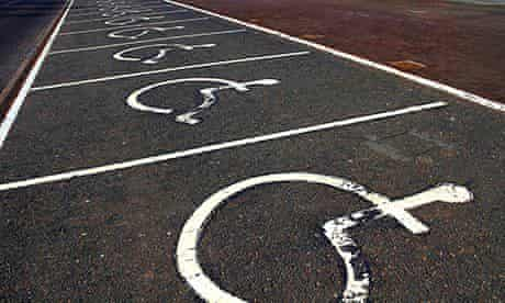 disabled road signs